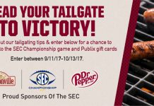 Dr Pepper SEC Championship Football Game Sweepstakes