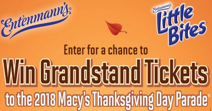 Entenmann's Macy's Thanksgiving Day Parade Sweepstakes