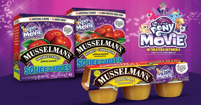 Musselman's My Little Pony Sweepstakes