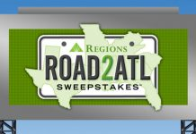 Regions Bank Road2ATL Sweepstakes 2017