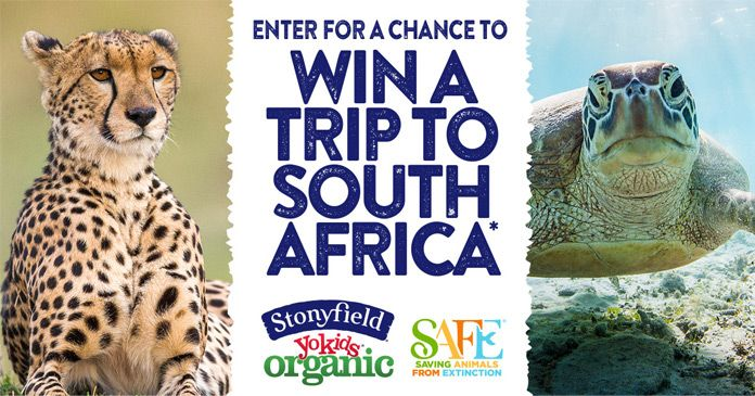 Stonyfield Trip to South Africa Sweepstakes