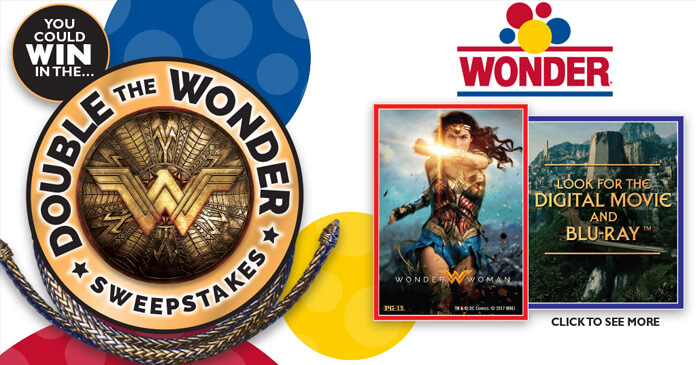 Wonder Bread Double The Wonder Sweepstakes