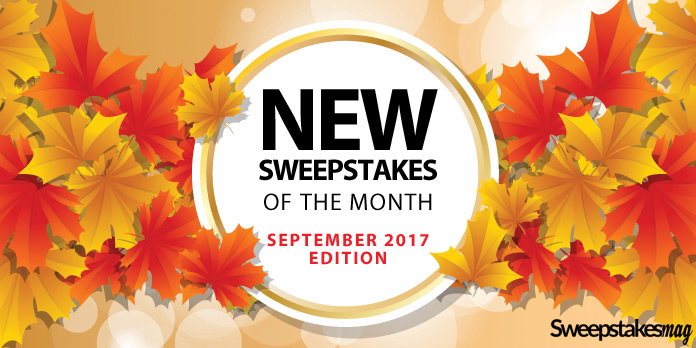 New Online Sweepstakes (September 2017)