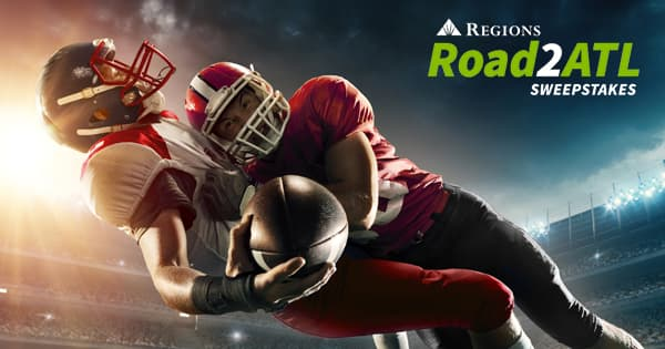 Regions Bank Road2ATL Sweepstakes 2019