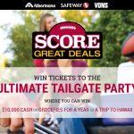 Albertsons Safeway Score Great Deals Sweepstakes