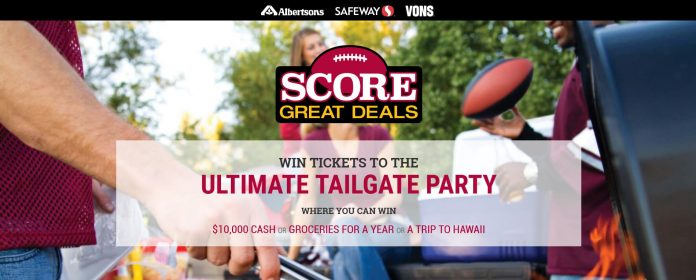 Albertsons Safeway Score Great Deals Sweepstakes