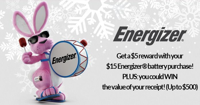 Energizer Holiday Sweepstakes 2017