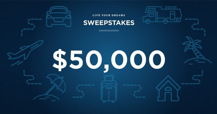 USAA Live Your Dreams Sweepstakes