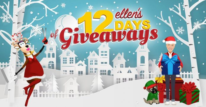 How to be on ellens 12 days of giveaways