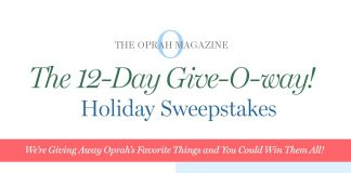 Oprah 12 Days Of Christmas Giveaway 2018 (Oprah.com/12Days)