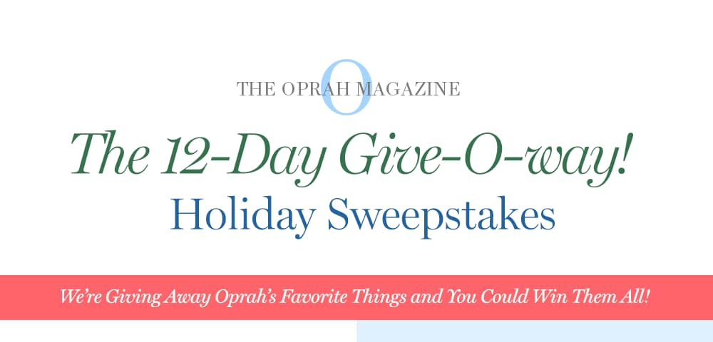 oprah 12 day giveaway 2019