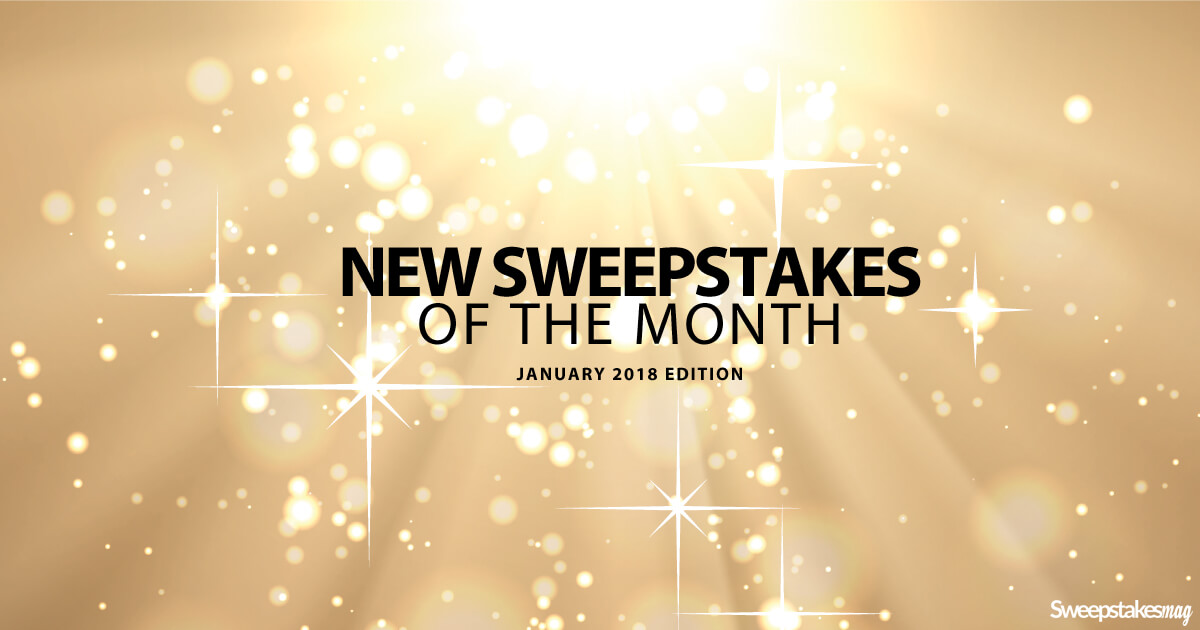 New Online Sweepstakes (January 2018)
