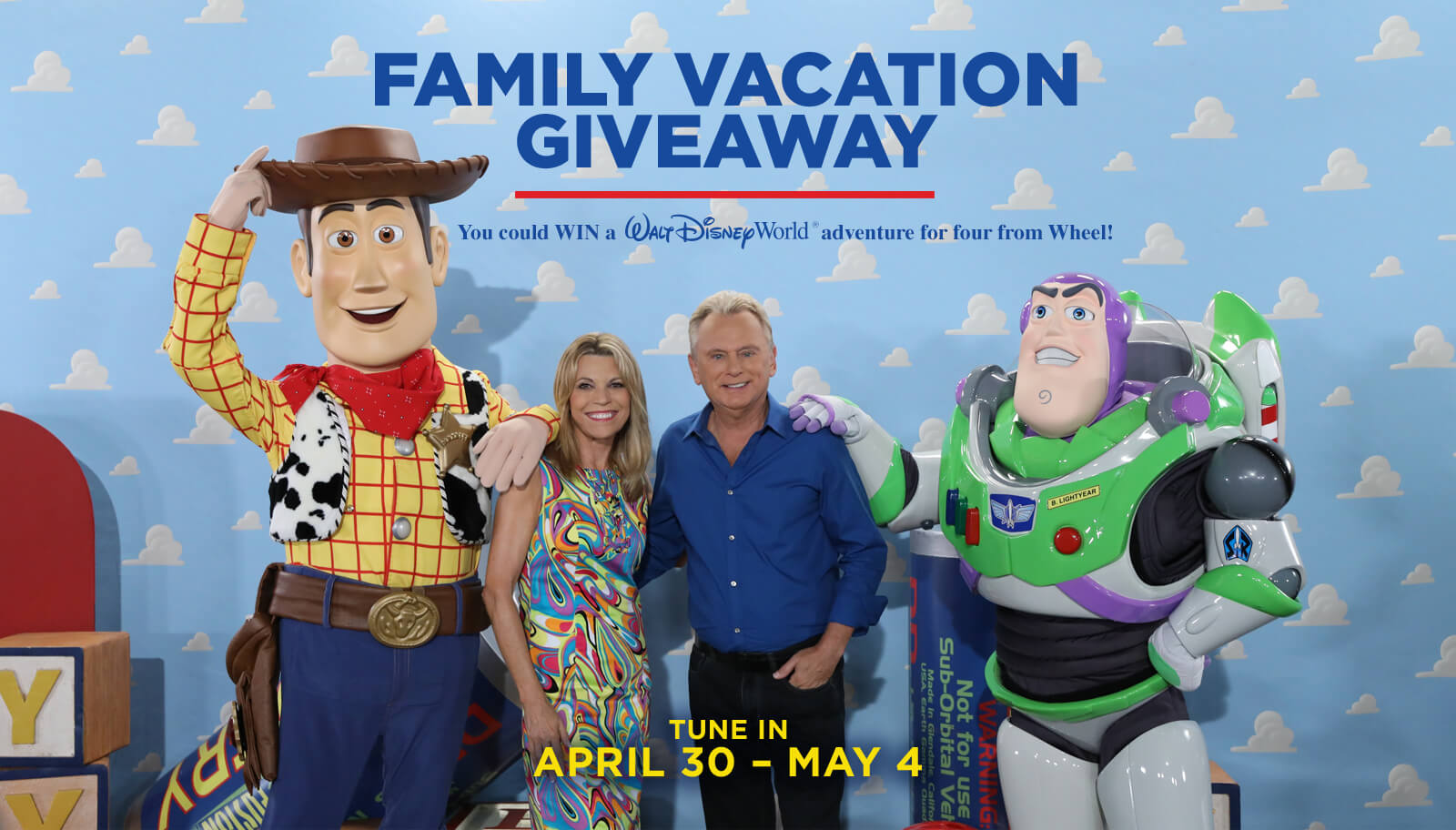 Wheel Of Fortune Family Vacation Giveaway