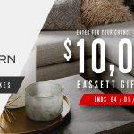 Bassett Furniture B-Modern Sweepstakes