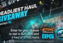 Discovery STIHL Deadliest Haul Giveaway
