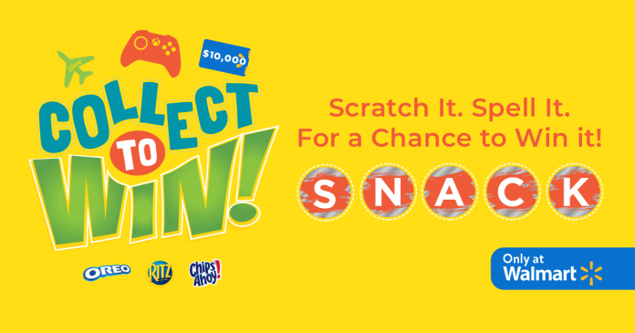 Walmart Collect To Win Promotion