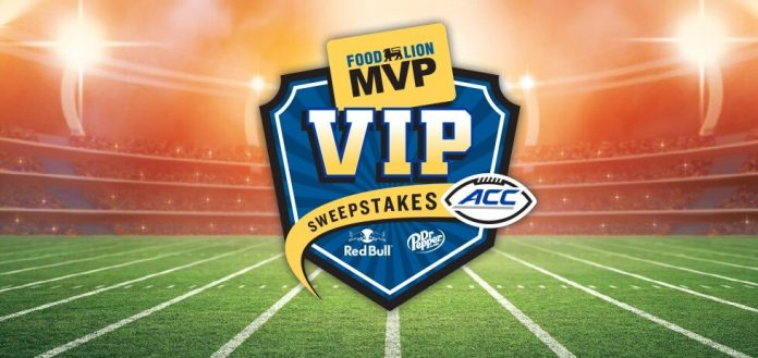 2018 Food Lion MVP VIP Sweepstakes