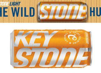 Orange Keystone Light Can 2018 Stone Hunt Sweepstakes