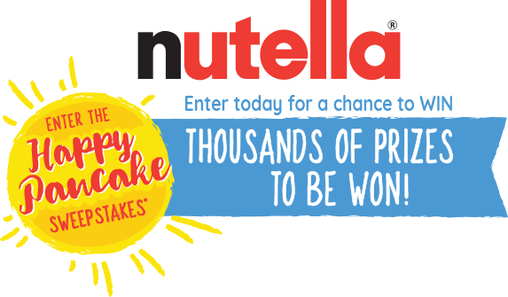 NUTELLA Happy Pancake Sweepstakes (HappyPancakeSweepstakes.com)