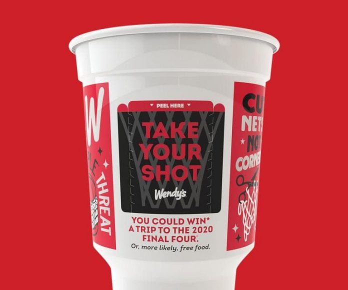 Wendy's Take Your Shot Instant Win Game