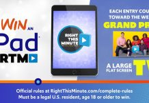 RightThisMinute iPad Giveaway