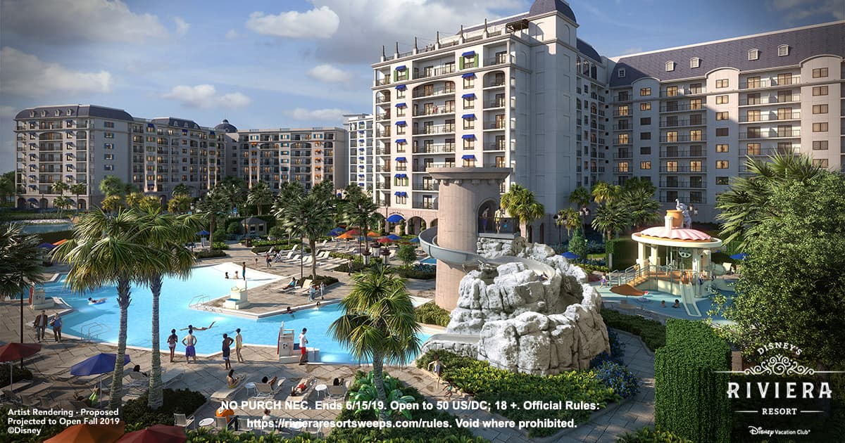 Disney Vacation Club Disney Riviera Resort Sweepstakes
