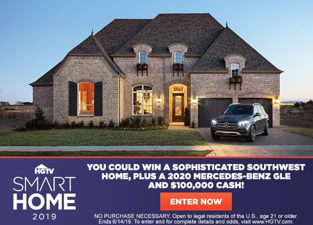 HGTV Smart Home 2019 Sweepstakes