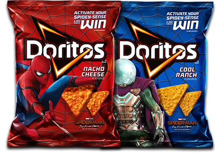 DORITOS Spider Man Far From Home Promotion