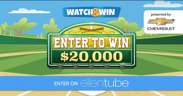 Ellen Chevy Watch & Win Contest