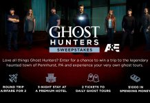 A&E - Ghost Hunters Sweepstakes