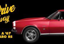 Advance Auto Parts Camaro Sweepstakes