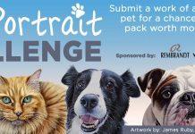 Dick Blick Pet Portrait Contest