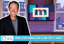 Maury You ARE the Winner Giveaway
