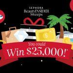Sephora Beauty Insider Sweepstakes