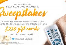 ION Television New Seasons Premiere Sweepstakes