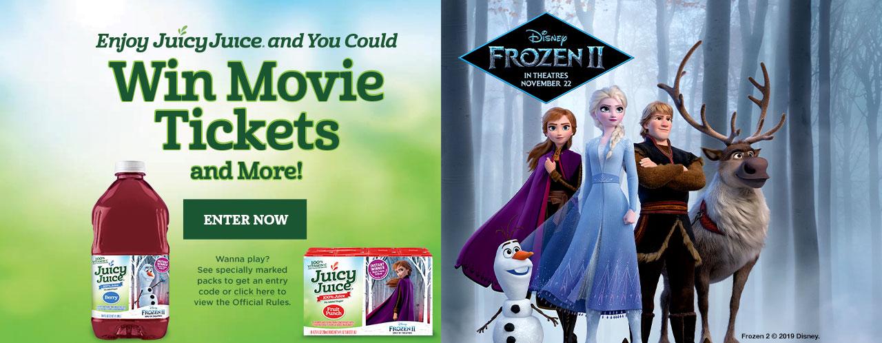 Juicy Juice Frozen 2 Instant Win Game