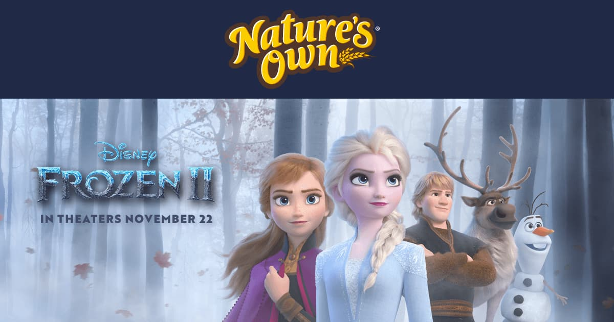 Nature's Own Adventure Frozen 2 Sweepstakes