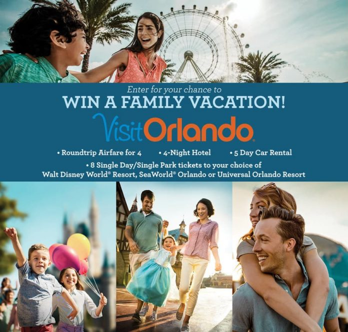 Orlando This Fall Sweepstakes
