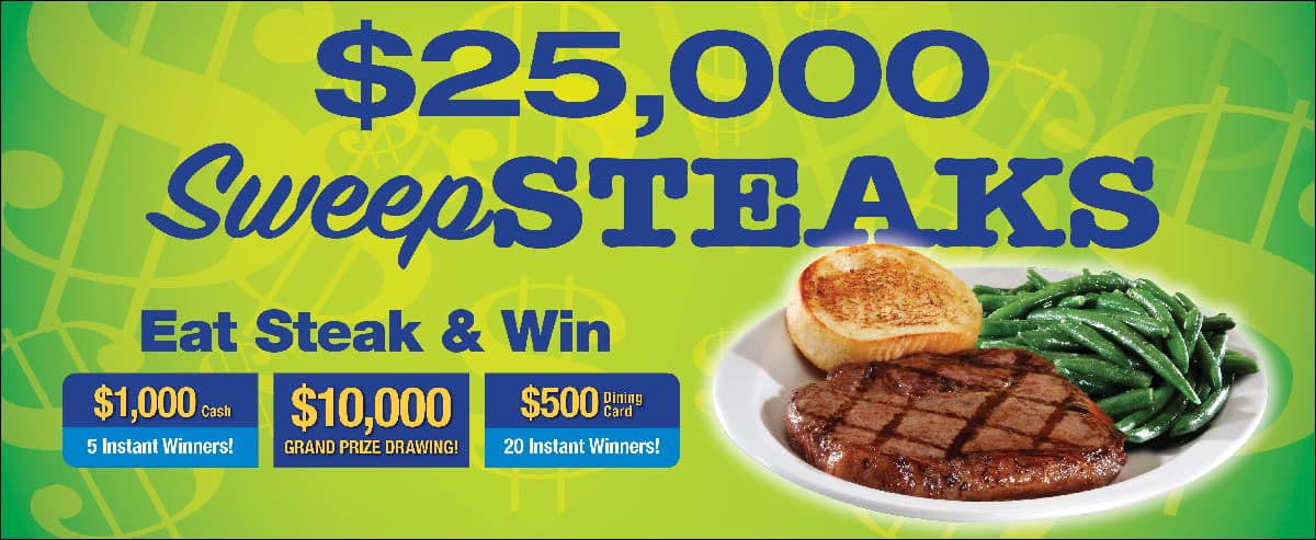TA Petro SweepSTEAKS Instant Win Game and Sweepstakes