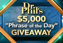 Dr Phil Phrase of the Day Giveaway