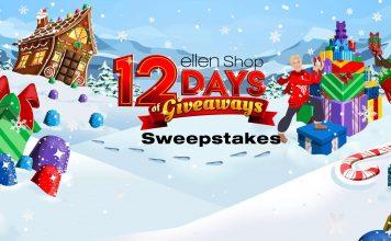 Ellen DeGeneres Shop 12 Days Of Giveaways Sweepstakes