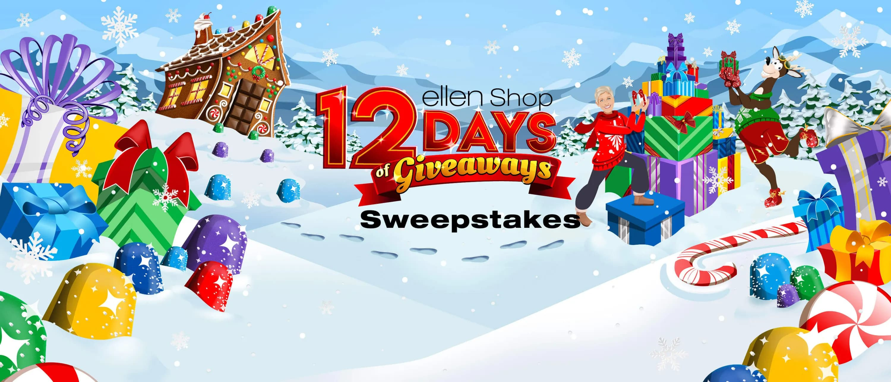 Ellen DeGeneres Shop 12 Days Of Giveaways Sweepstakes