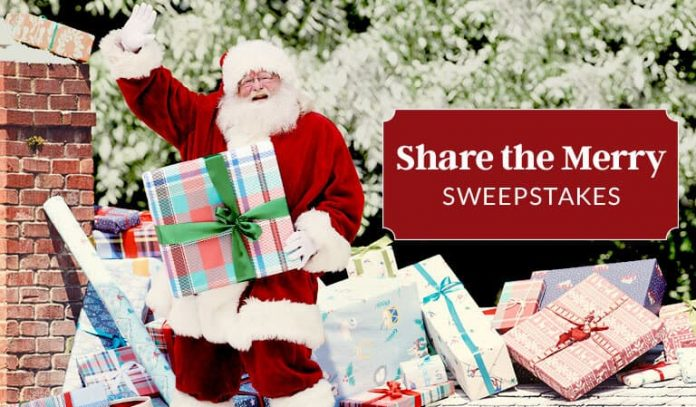 Lands' End Share the Merry Sweepstakes