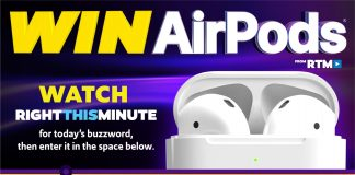 Right This Minute AirPods Giveaway 2020
