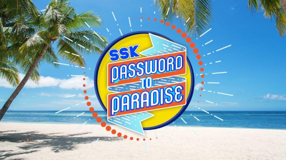 Strahan, Sara and Keke Password To Paradise Contest