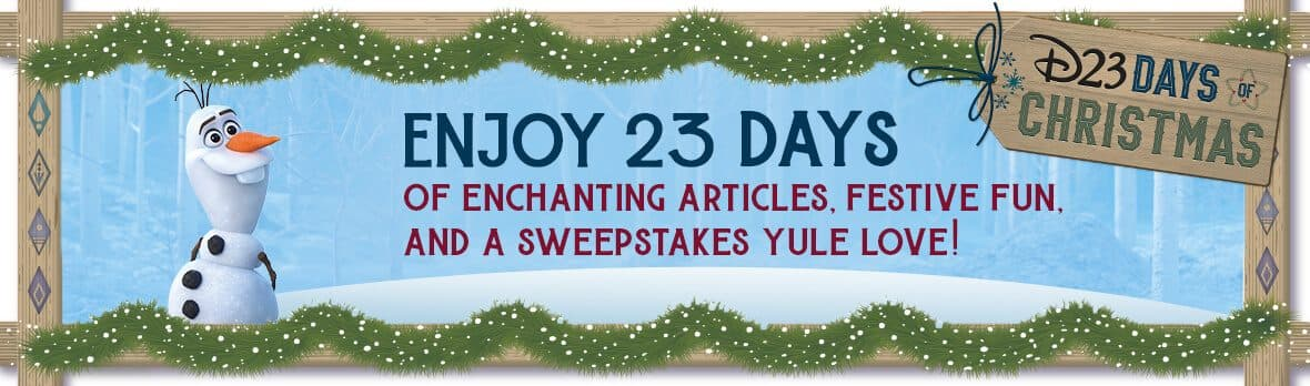 D23 Days Christmas Sweepstakes 2019