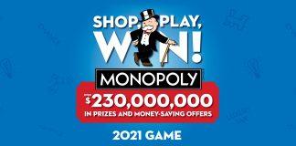 Monopoly Albertsons 2021