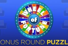 Wheel Of Fortune Bonus Puzzle Solution