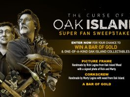 History Channel Curse Of Oak Island Sweepstakes
