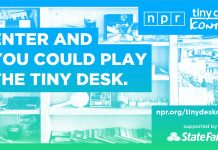 NPR Music Tiny Desk Contest 2020